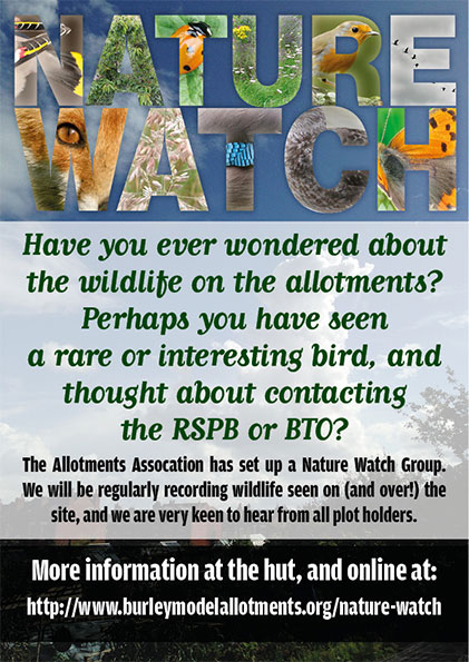 nature watch gate poster